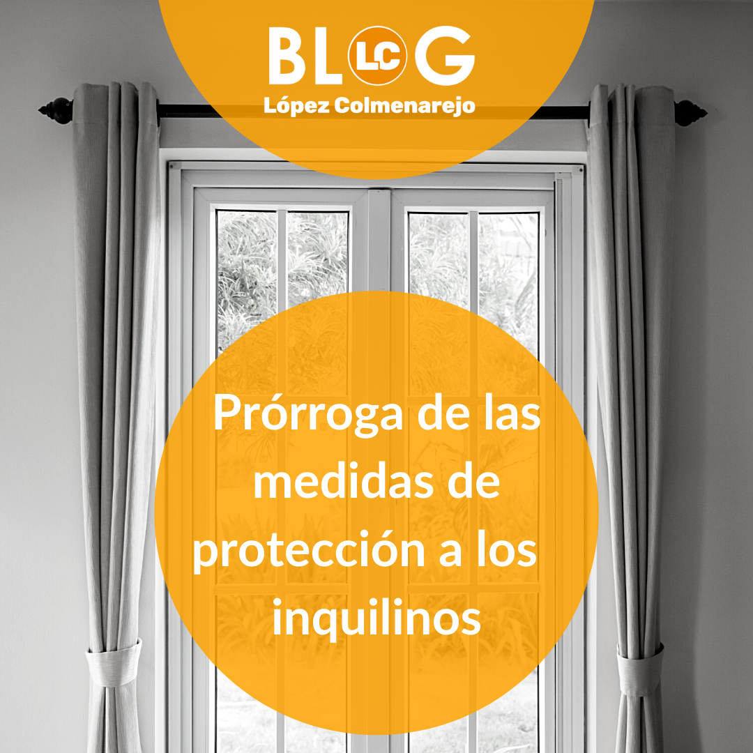 Prórrofa de las medidas de protección a los inquilino